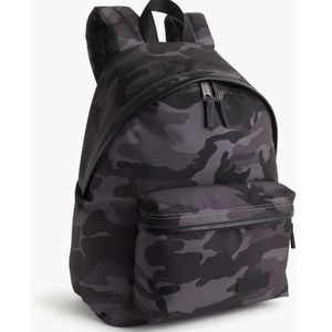 J. Crew NWT Camo Eastpak Padded Pak'r Backpack